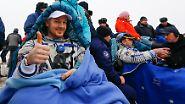 Mission erfüllt!: Alexander Gerst ist zurück auf der Erde
