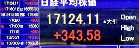 Kommt jetzt die Jahresend-Rally?: Rekordhoch an Wall Street beflügelt Börse in Tokio
