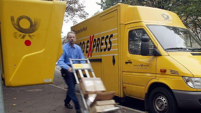Florierendes Expressgeschäft: Deutsche Post bleibt auf Kurs