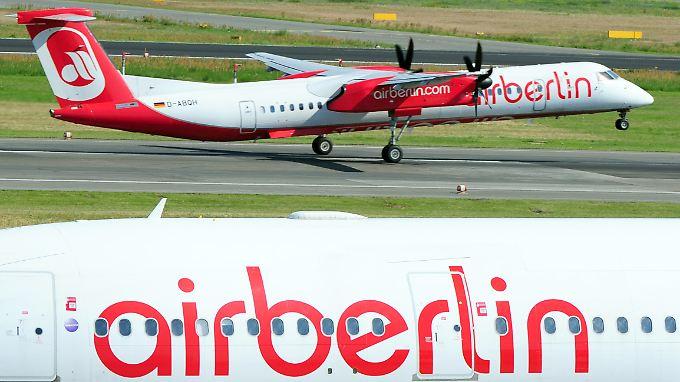 Air Berlin will auch seine Flotte neu aufstellen.