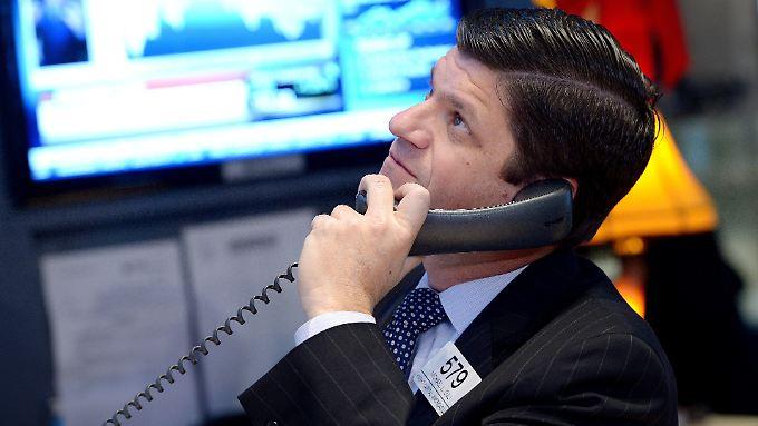 Ob die Rekordjagd an der Wall Street weitergeht, entscheidet sich mit einer Reihe von Konjunkturdaten.