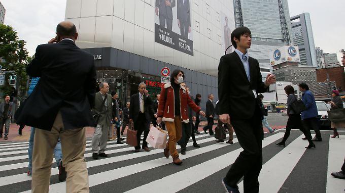 Japans Wirtschaft schrumpft überraschend.