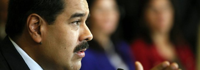 Wenn der Ölpreis weiter fällt, wackelt nicht nur Venezuela: Nicolas Maduro.