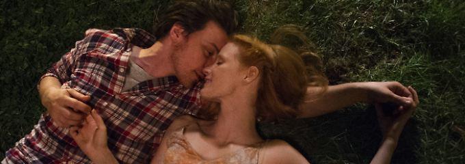 Ein Bild aus unbeschwerten Tagen: Eleanor (Jessica Chastain) und Connor (James McAvoy).
