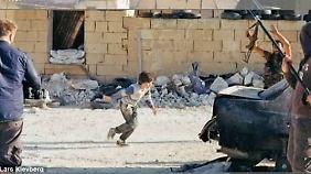 Mädchen aus Kugelhagel gerettet: Film über kleinen Syrien-Helden ist eine Fälschung