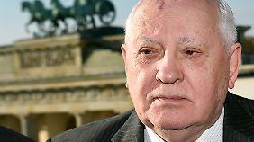 Gern gesehener Gast in Deutschland: Michail Gorbatschow.
