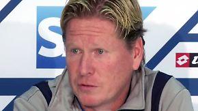 """PK von TSG-Trainer Markus Gisdol: """"Wenn du in München 6:0 verlierst, ist doch alles normal"""""""