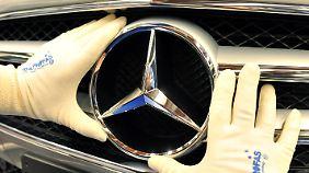 Daimler ist Klassenprimus: Dax-Konzerne steigern Umsätze deutlich