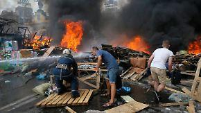 Ein Jahr nach Maidan-Revolution: Ukraine versinkt immer weiter im Chaos
