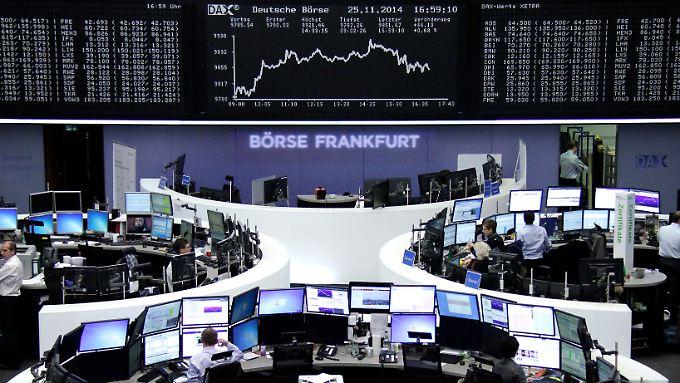 Die Frankfurter Börse reagierte leicht negativ auf das unter den Erwartungen ausgefallene Verbrauchervertrauen aus den USA.