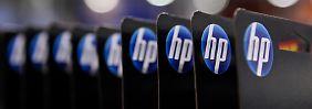 Gewinn und Umsatz schrumpfen: Hewlett-Packard tritt auf der Stelle