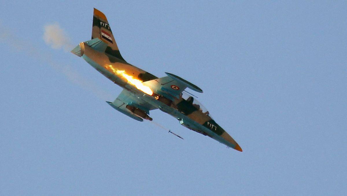 IS startet Sturm auf Militärflughafen