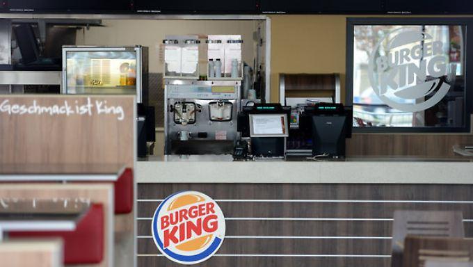 Die Türen bleiben in den betroffenen Burger-King-Filialen geschlossen.