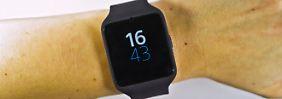 Schönheit kommt von innen: Sony Smartwatch 3 fast wegweisend