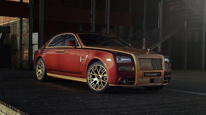 Der Ghost ist das meistverkaufte Modell der Luxusmarke Rolls-Royce.