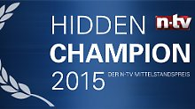 "n-tv Mittelstandspreis: ""Hidden Champion 2015"""
