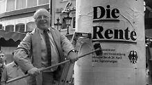 """""""System erledigt sich von selbst"""": Norbert Blüm beklagt Zustand der Rente"""