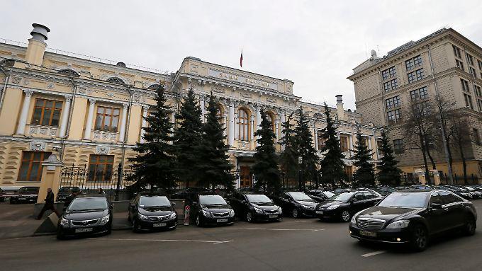 Zu Wochenbeginn hatte hatte Russlands Zentralbank700 Millionen Dollar für Stützungskäufe ausgegeben.