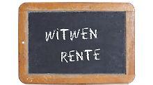Die Witwen- oder Witwerrente gibt es in klein und in groß.