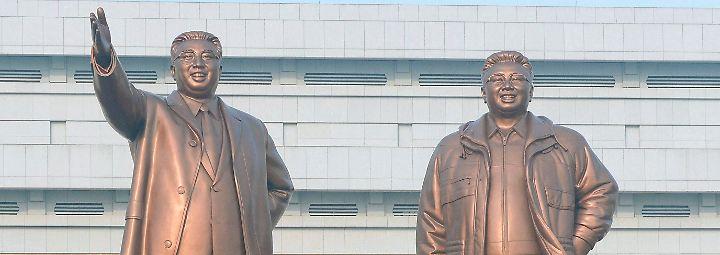 Der noch junge Kim Jong-Un ist nur deshalb Führer seines Landes geworden, weil er in direkter Linie von Staatsgründer Kim Il-Sung abstammt.