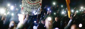 """Interview mit einem Pegida-Aktivist: """"Wir sind überparteilich"""""""