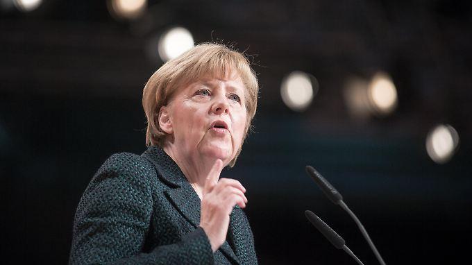 Angela Merkel hält sich wie immer alle Optionen offen.