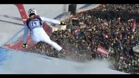 """Spektakulärste Ski-Abfahrt der Welt: Film über die """"Streif"""" ist nichts für schwache Nerven"""
