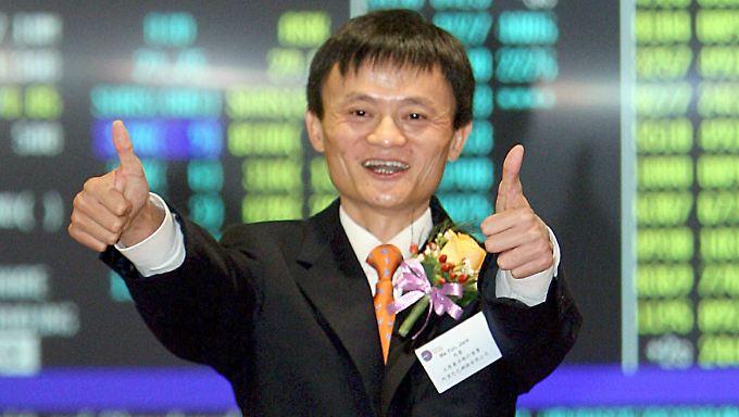 Jack Mas Vermögen wurde auf 28,6 Milliarden US-Dollar geschätzt.