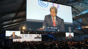 """""""Ein schwacher Text"""": Klimagipfel in Lima einigt sich auf Minimalkonsens"""
