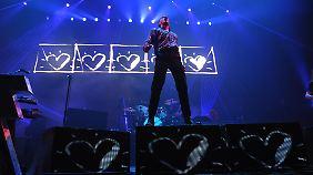 The Killers verbreiten gern viiiel Liebe.