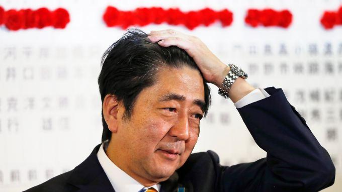 Shinzo Abe will die japanischen Atommeiler wieder hochfahren.