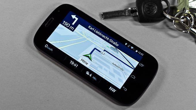 Mit der richtigen App wird ein Smartphone zum Offline-Navi.
