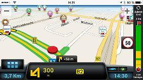 CoPilot nutzt wie Here Karten von Nokia.
