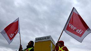 Verdi droht mit Ausweitung: Amazon-Mitarbeiter streiken drei Tage lang