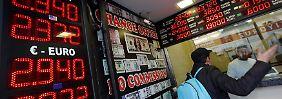Ein Volk im Kaufrausch: Russen wollen ihre Rubel retten
