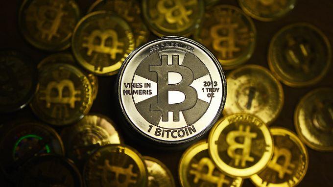 Der Wert von Bitcoins ist in diesem Jahr stark gesunken.
