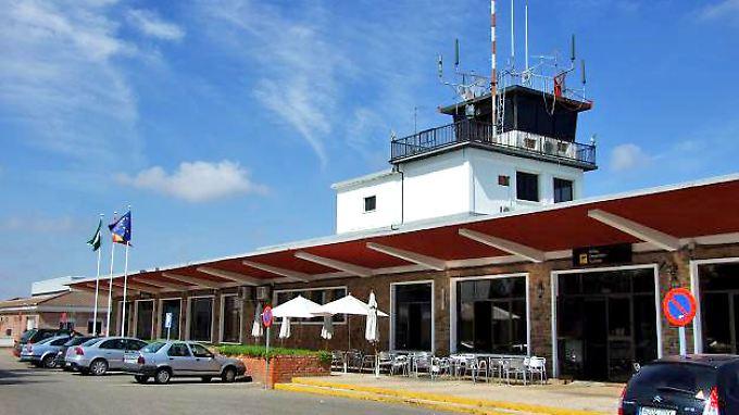 Der Flughafen Cordoba in Spanien. 179.000 Passagiere waren prognostiziert, 7000 kamen.