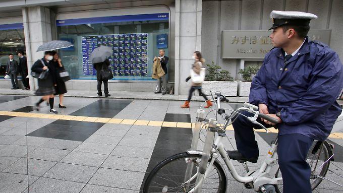 Japan erlebt einen relativ ruhigen Handelstag.