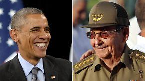 Historische Annäherung: USA und Kuba streben diplomatische Beziehungen an