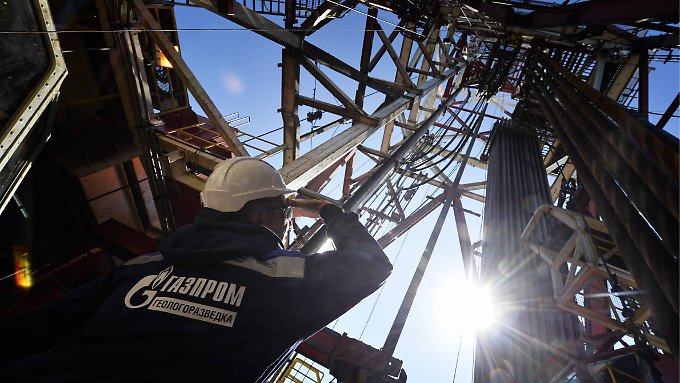 Gas-Erkundungsbohrung in Sibirien. Die BASF-Tochter wird nicht in den Genuss von Anteilen der Gasförderung kommen.