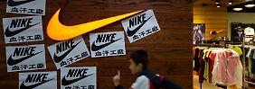 Global betrachtet steigen die Bestellungen für Nike um 11 Prozent.
