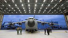 Bescherung für die Bundeswehr: Deutschlands erster A400M