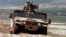 Legendär wurde der Humvee bei seinem Einsatz im Irak 1991.