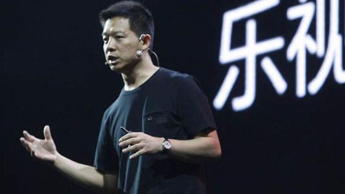 Jia Yueting will mit seinen Elektroautos Chinas Umwelt retten. Aber nicht nur das.
