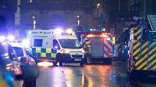 Viele Tote und Verletzte in Glasgow: Müllwagen rast in Menschenmenge