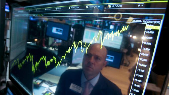 An der Börse in New York ging es aufwärts. (Symbolbild)