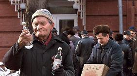 Gute Nachrichten? Wodka wird billiger.