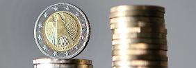 Euro kaum verändert: Rubel schwankt kräftig