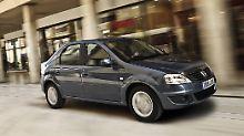 Der Dacia Logan ist optisch ein Wagen zum Wegschauen.