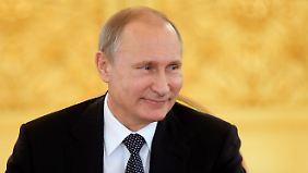 Die ukrainische Armee kämpft nicht für die Sache der Ukraine, glaubt Putin.